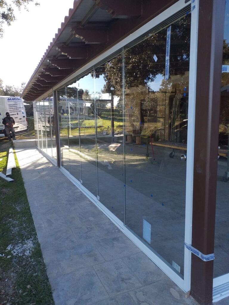 cerramiento acristalado Collado Villalba