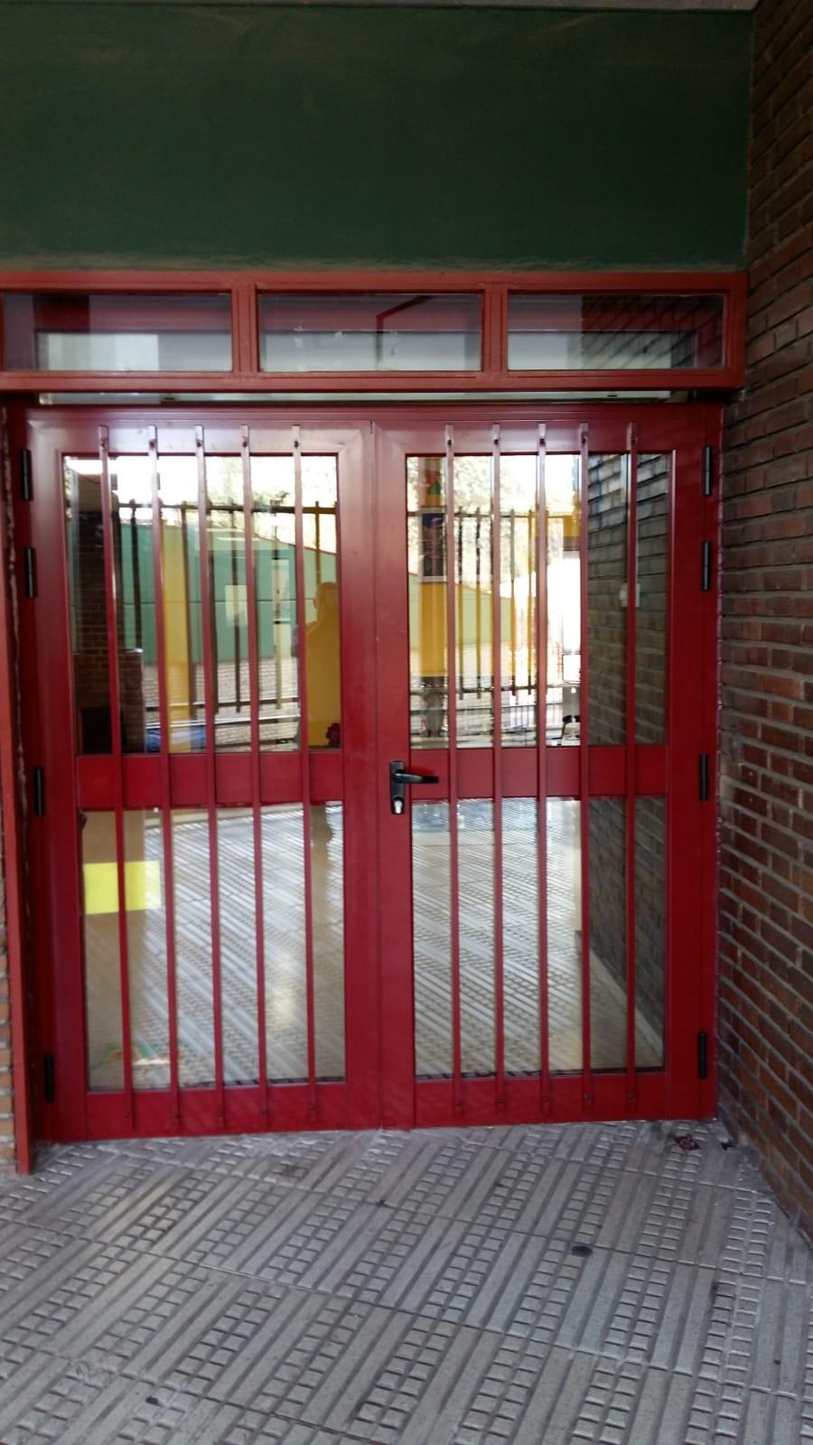 portal colegio aluminio