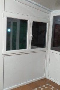 cerramiento aluminio piso